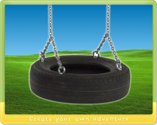 Recycling Tips Old Tyres Can Be Made Into Garden Swings