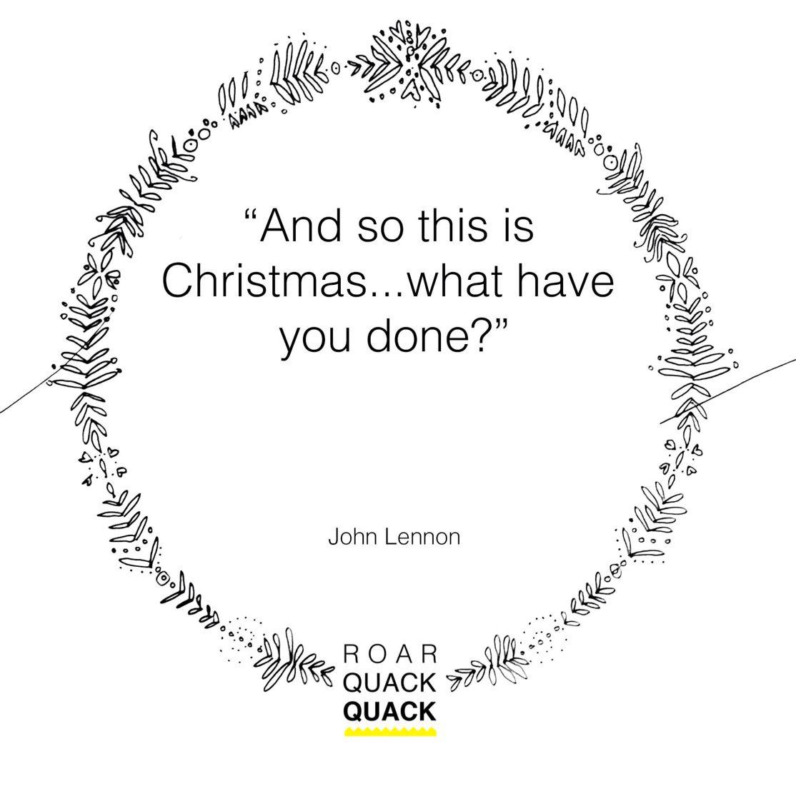 John Lennon Christmas Quote The Beatles Pinterest Quotes