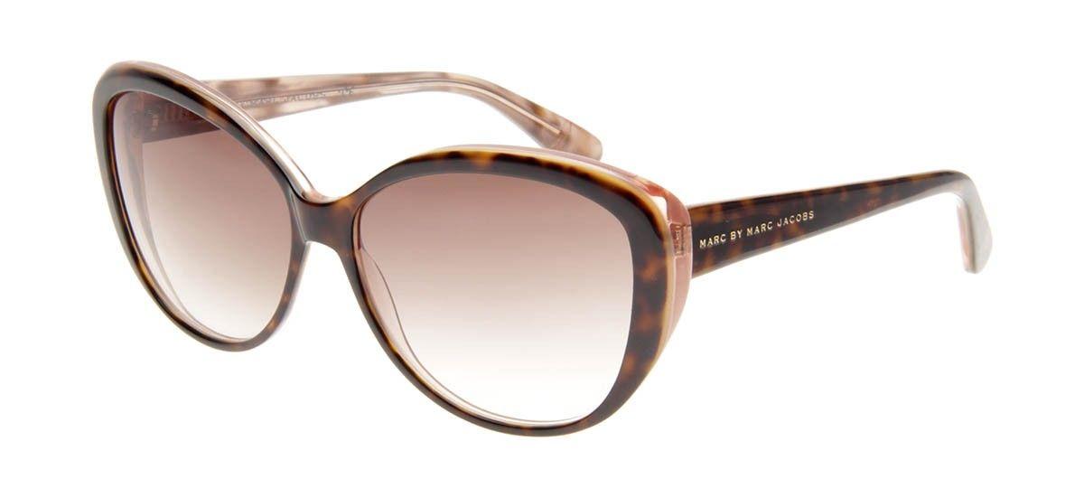 660ab83ab9246 Marc by Marc Jacobs MMJ243 S - Tartaruga e Rosa - Óculos de Sol Feminino -  Óculos de Sol
