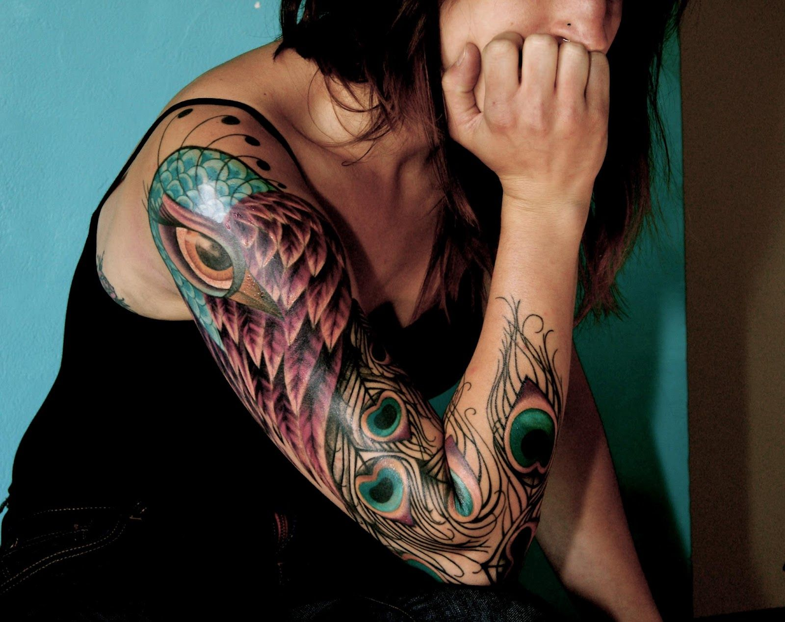 Perfect length tattoos i like pinterest peacocks tattoo and