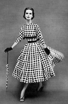 ba41a4e70 Anos 50 - Parte 3  Moda Feminina .