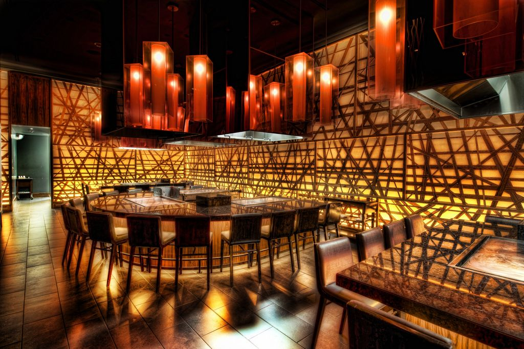 Delightful This Is A Cool Japanese Restaurant In The MGM Grand In Vegas Called  Shibuya. These · Modern Restaurant DesignRestaurant InteriorsRestaurant ...