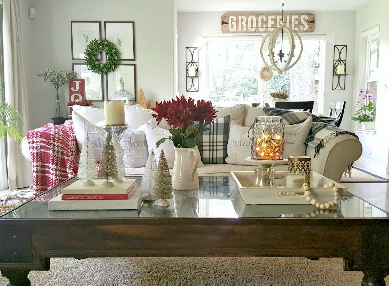 Holiday Coffee Table Essential Decor Elements Christmas Coffee Table Decor Decor Essentials Decor