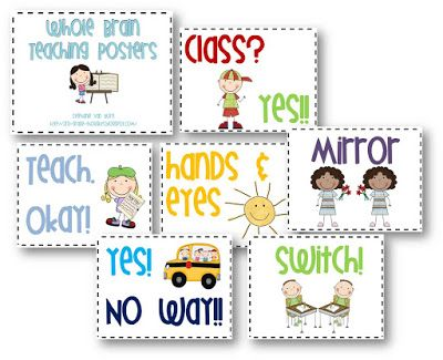 3rd Grade Thoughts: Whole Brain Teaching Posters with Clip Art
