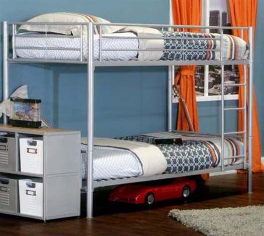 Boy Bunk Beds Metal Google Search Twin Bunk Beds Bunk Beds Kids Bunk Beds