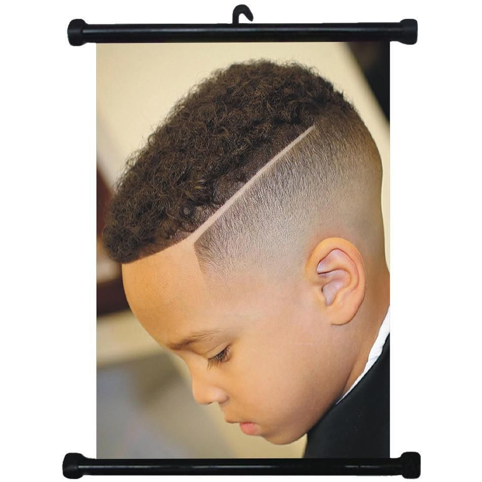 $2.99 - sp217144 boy hairstyles wall scroll poster for