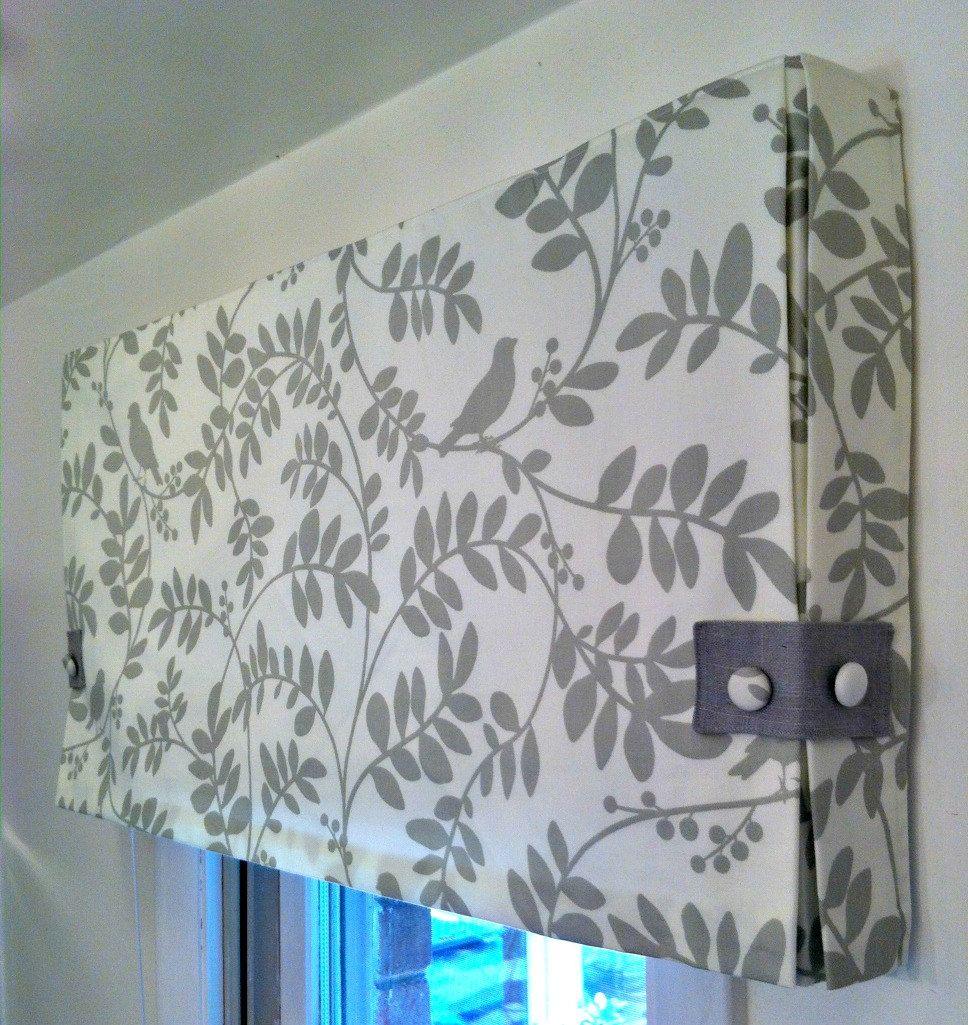 Custom Made to Order Box Pleat Valance Using Your Fabric | Gardinen ...