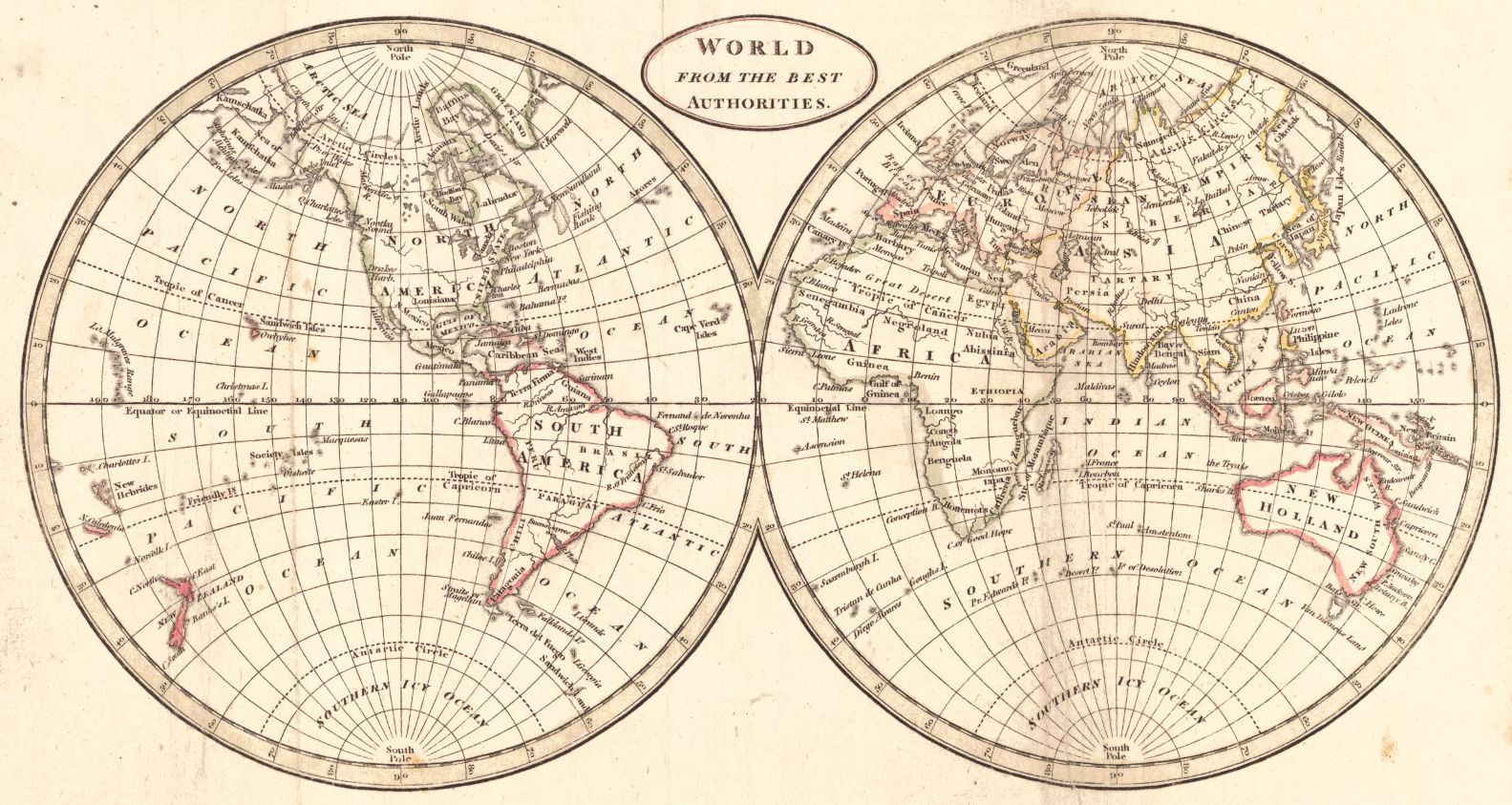 World from the Best Authorities Jacob Johnson Co Brookes