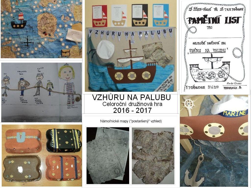 Vzhůru na palubu - celoroční družinová hra 2016 - 2017 | hrajeme si ...