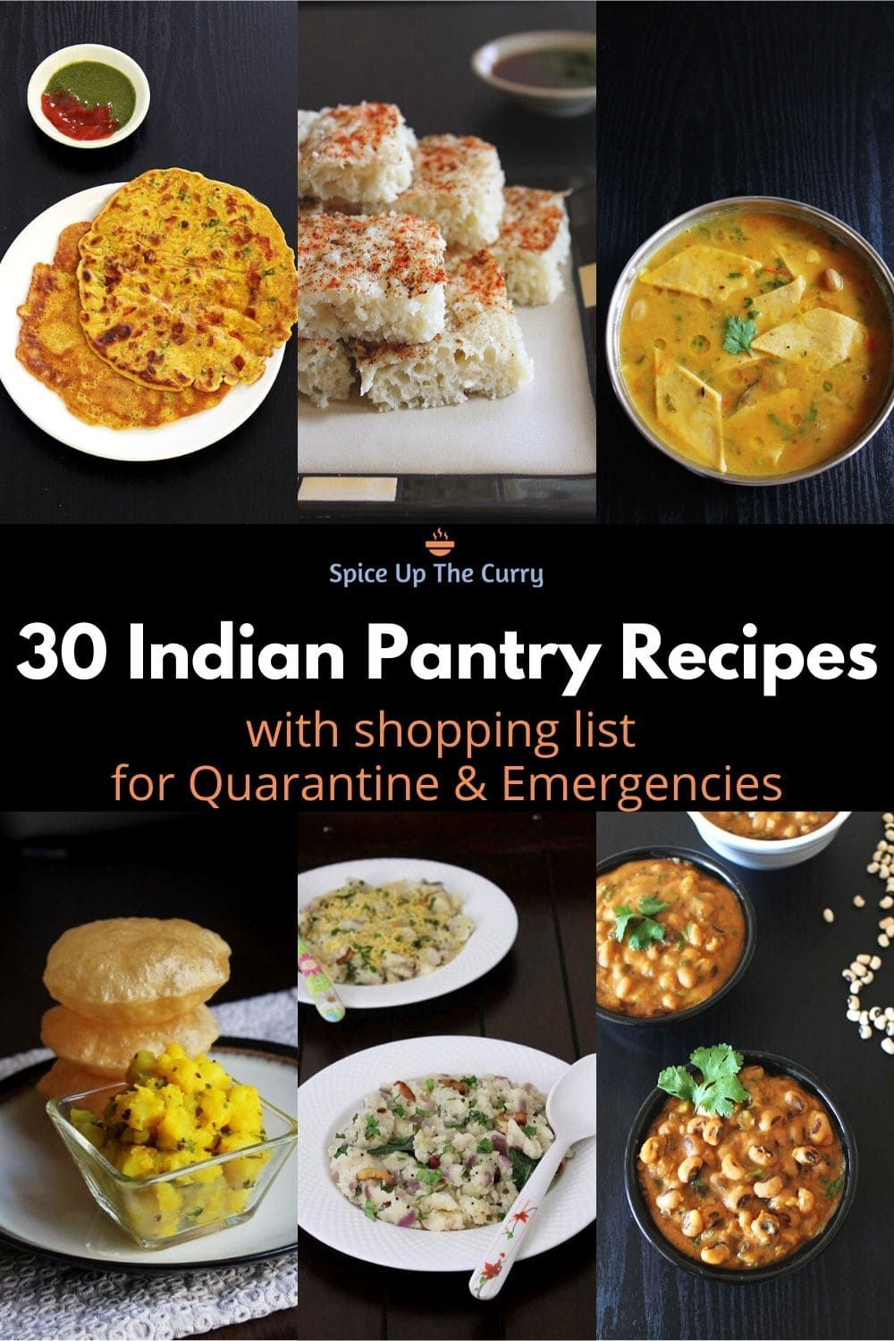 30 Indian Pantry Recipes For Emergencies Indian Food Recipes
