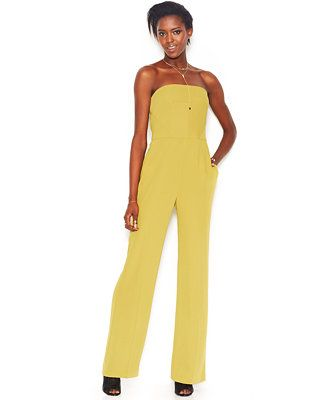 c7d9c62564bf RACHEL Rachel Roy Sleeveless Wide-Leg Jumpsuit - Macy s  sponsored ...
