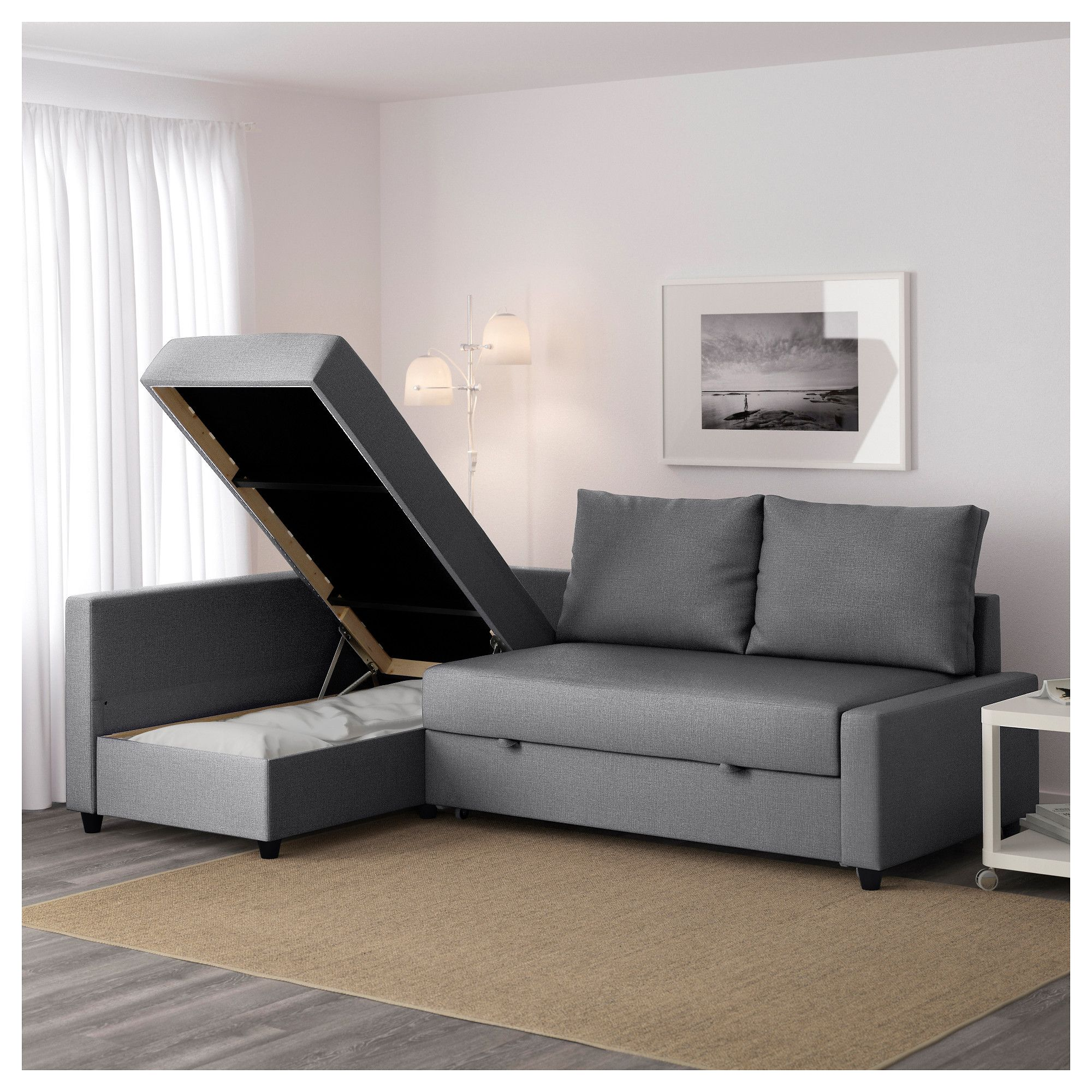 Friheten Skiftebo Dark Grey Corner Sofa Bed With Storage Ikea Sofa Bed With Chaise Corner Sofa Bed With Storage Sofa Bed With Storage