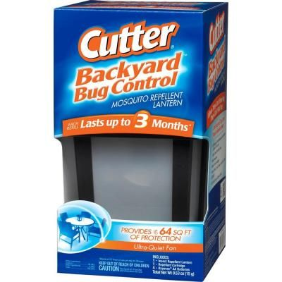 Cutter Backyard Bug Control Mosquito Repellent Lantern HG 96176   The Home  Depot