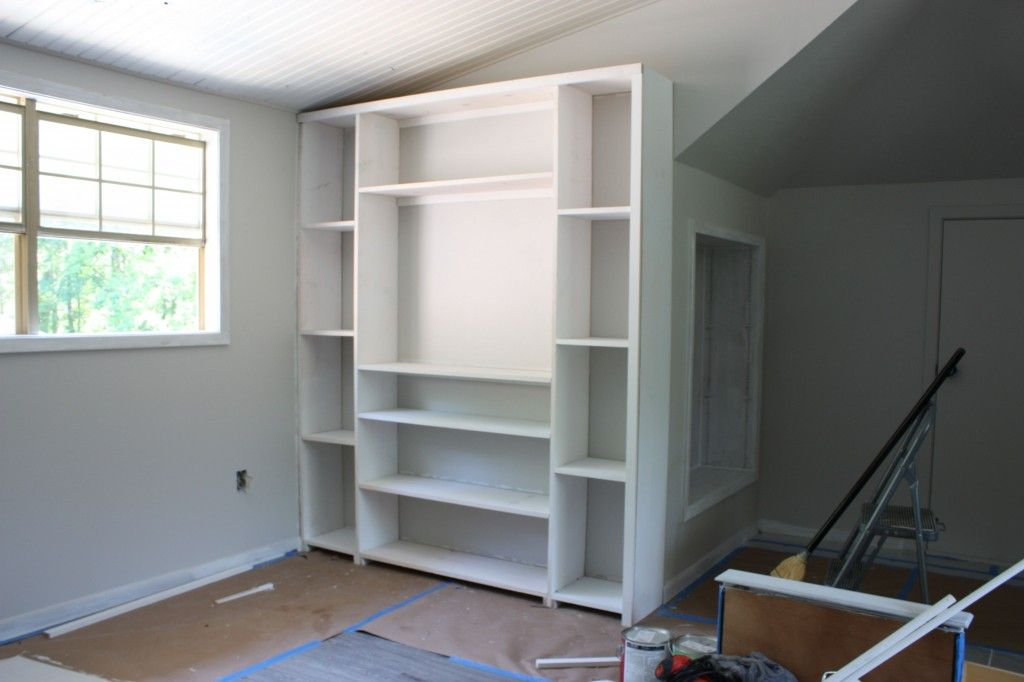 Easy Ways To Create Built In Shelving And Cabinets On A