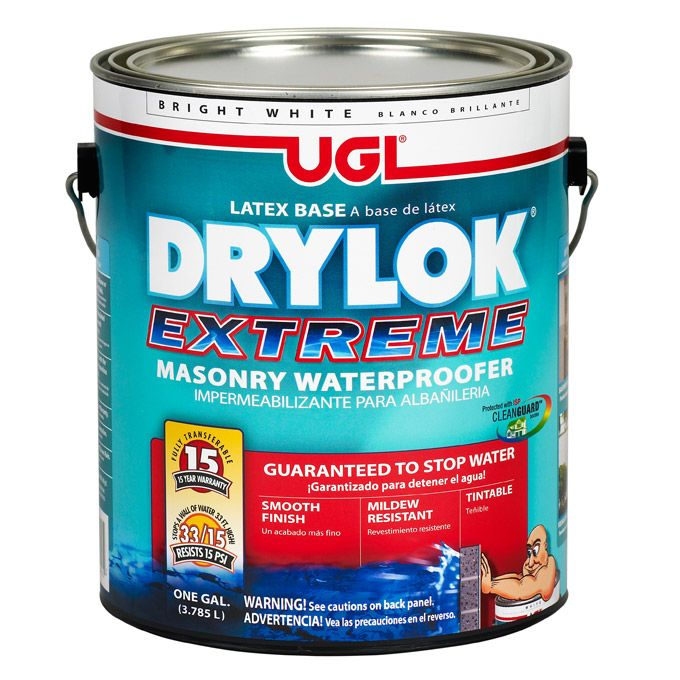 Drylok Is A Great Concrete Sealer That Can Be Used To Seal Up Cracks In Your