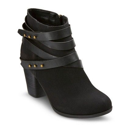 Women's Stella Strap Booties - Mossimo Supply Co.™
