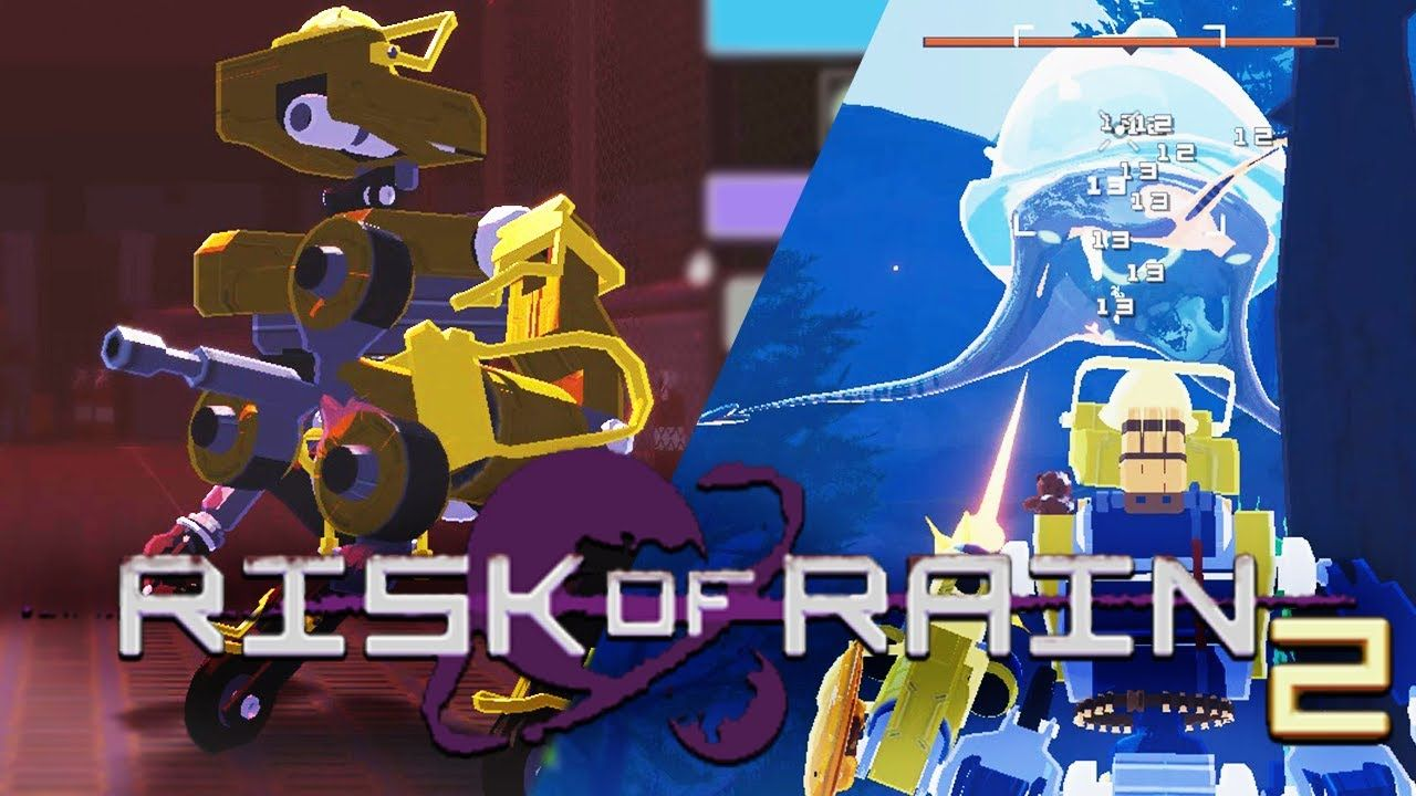 Входим в цикл на омега роботе // Risk of Rain 2 2 Free