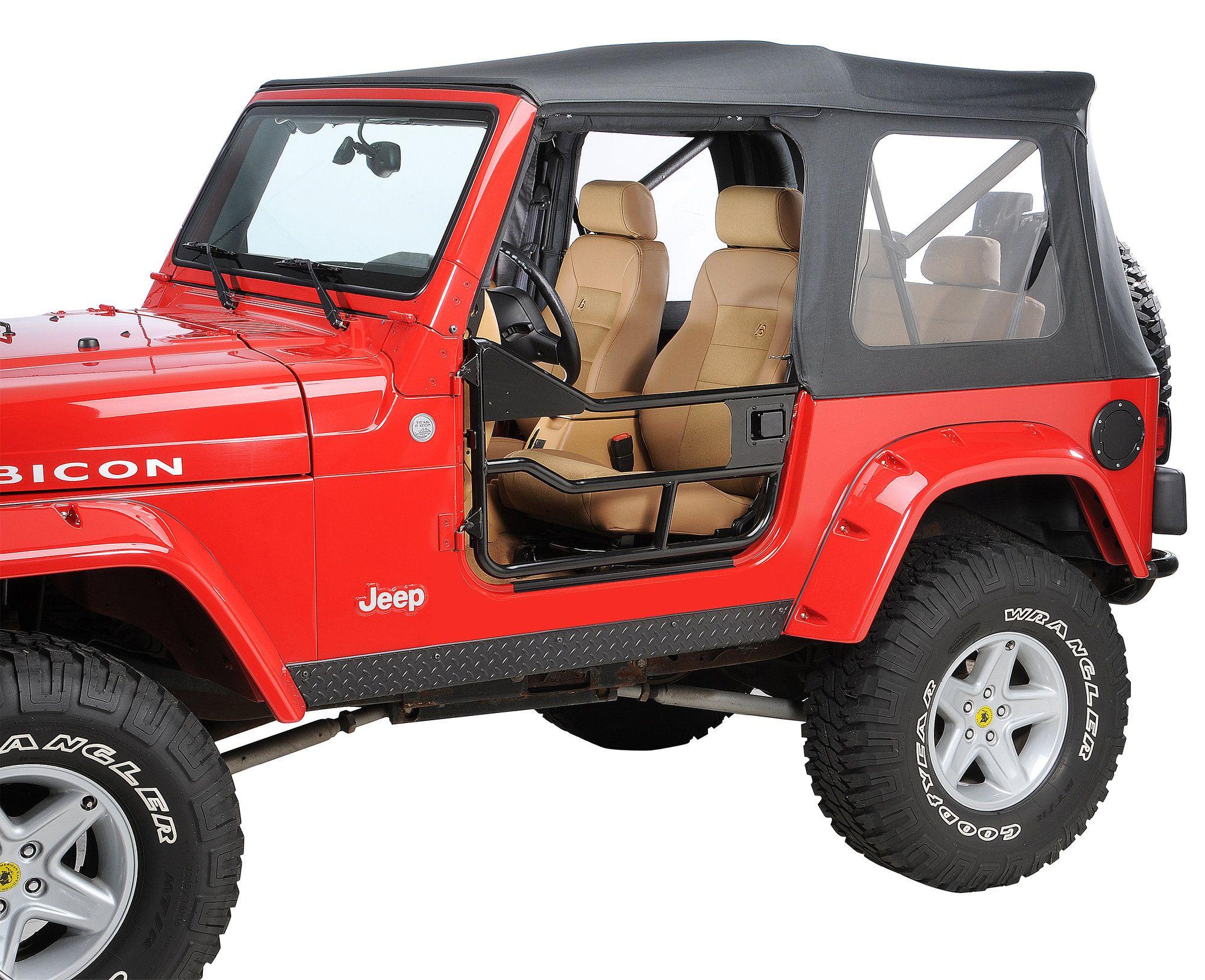 Bestop Highrock 4x4 Element Doors For 97 06 Jeep Wrangler Tj Unlimited In 2020 Jeep Jeep Wrangler Jeep Wrangler Tj