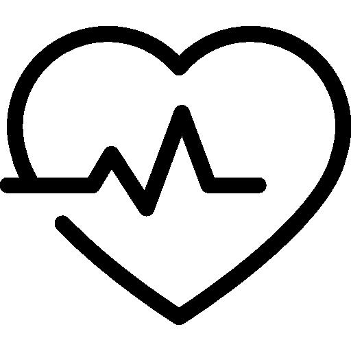 Corazon Con Lineas De Vida
