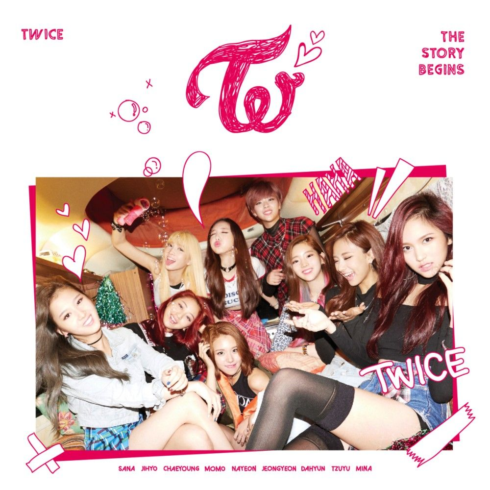 Twice Like Ooh Ahh Album Cover 2015 10 20 Jypetwice