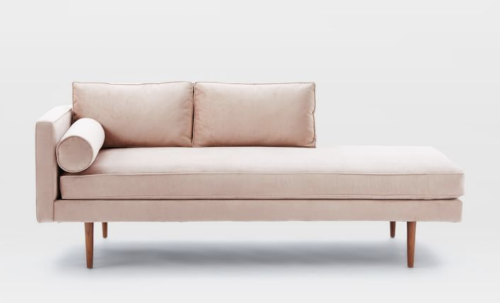 10 Rose Quartz Serenity Home Decor Ideas In Honor Of The 2016 Pantone Colors Of The Year Furniture Chaise Lounger Bedroom Seating
