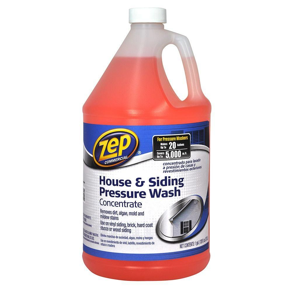 Zep 128 Oz House And Siding Pressure Wash Concentrate Vinyl Siding Cleaner Much Cheaper Alternative Pressure Washing Concrete Cleaner Cleaning Vinyl Siding