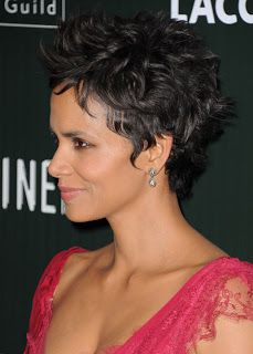 Fashion And Whatever I Like: Halle Berry Is The Queen Of Short Hair! Nobody Can Rock A Pixie, Spiked Look Like Halle Berry!
