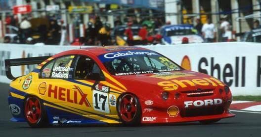 2001 Ford Falcon V8 Supercar: DJR - Steven Johnson/Paul Radisich 2001 Bathurst 1000