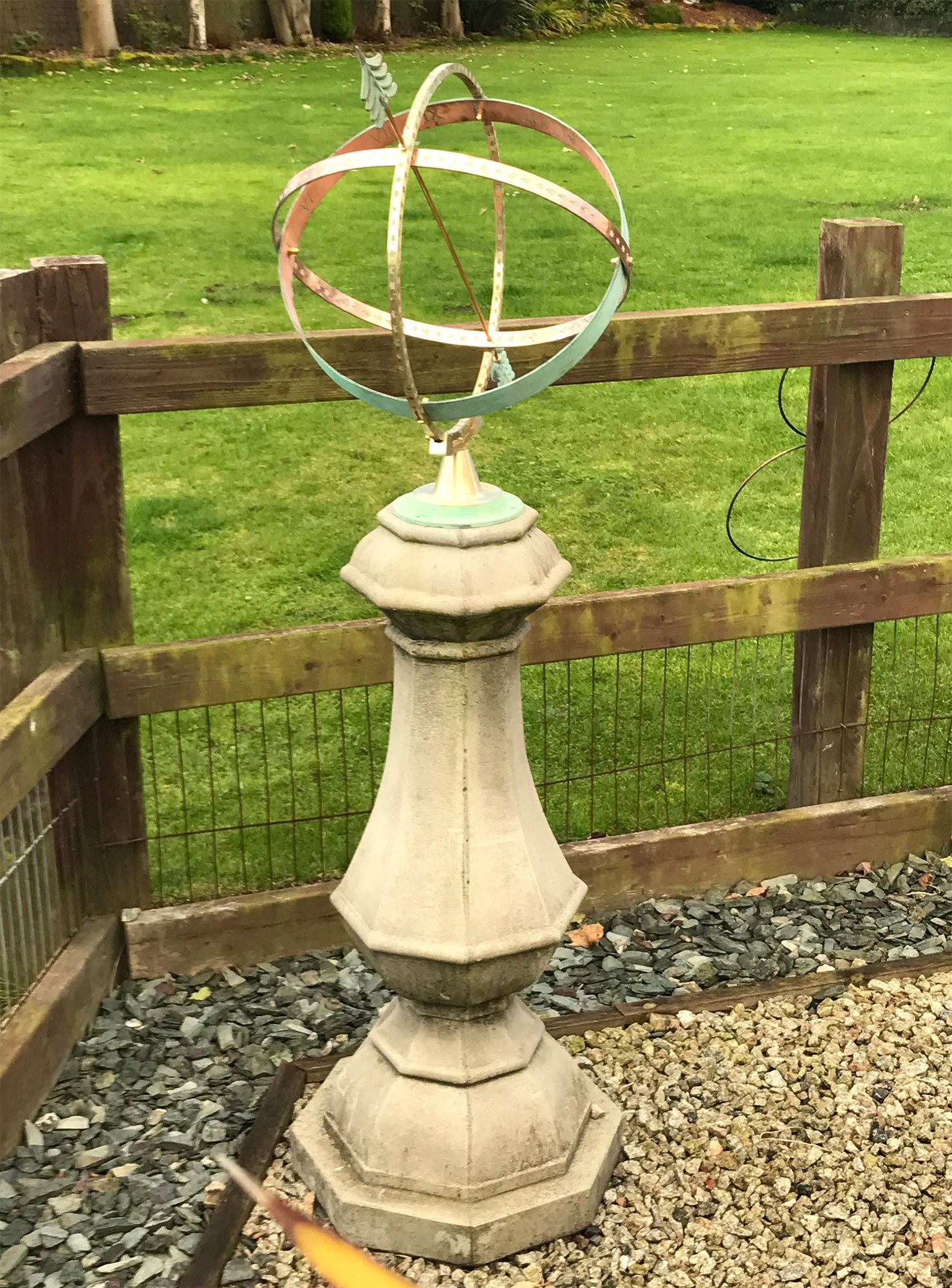 Sundial garden ornament - View The Large Marino Armillary Stone Sun Dial Garden Sundial Or See Our Full Range Of Exquisite Unique To Statues Sculptures Online