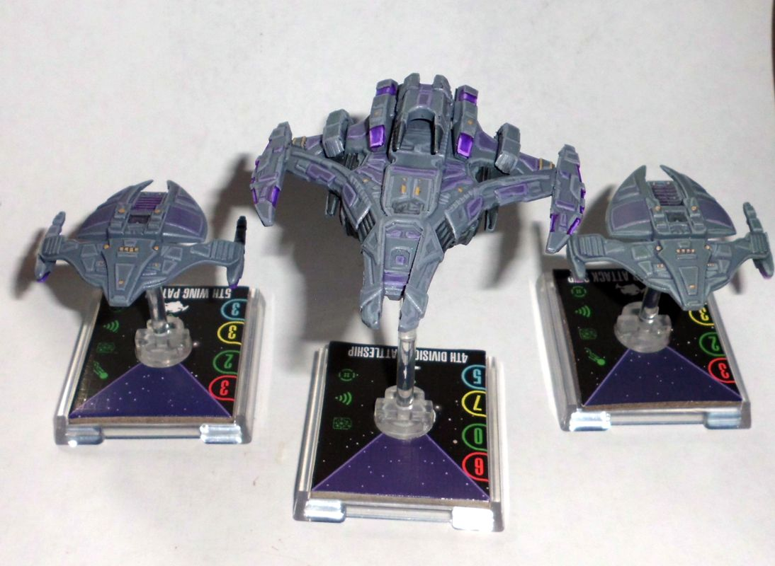 Repainted Dominion Ships