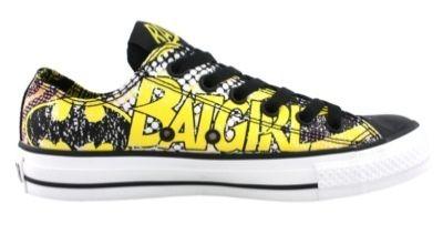 5d04234ee018 New Converse BATMAN BATGIRL All Star Lo Chuck Taylor DC Comics Shoes dark  knight