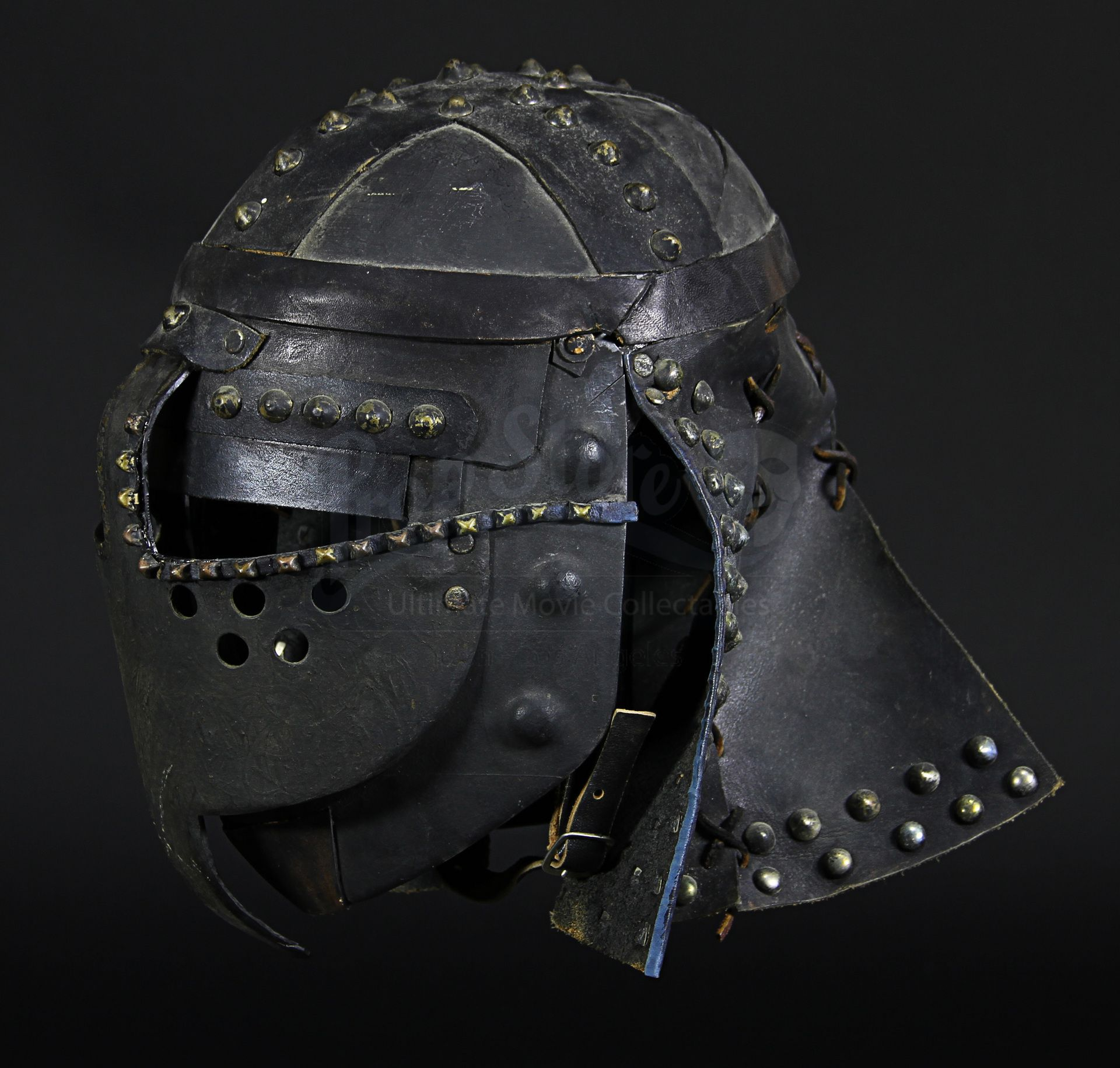 Robin Hood Prince Of Thieves Marion's (Mary Elizabeth Mastrantonio) Helmet A helmet worn in the production of the 1991 medieval adventure film Robin Hood: Prince of Thieves. Returning from the Third Crusade, nobleman Robin of Locksley (Kevin Costner) and his Arab comrade Azeem (Morgan Freeman) find England under the tyrannical rule of the usurping Sheriff of Nottingham (Alan Rickman).