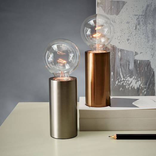 Pedestal table lamp pedestal table lamp west elm aloadofball Image collections