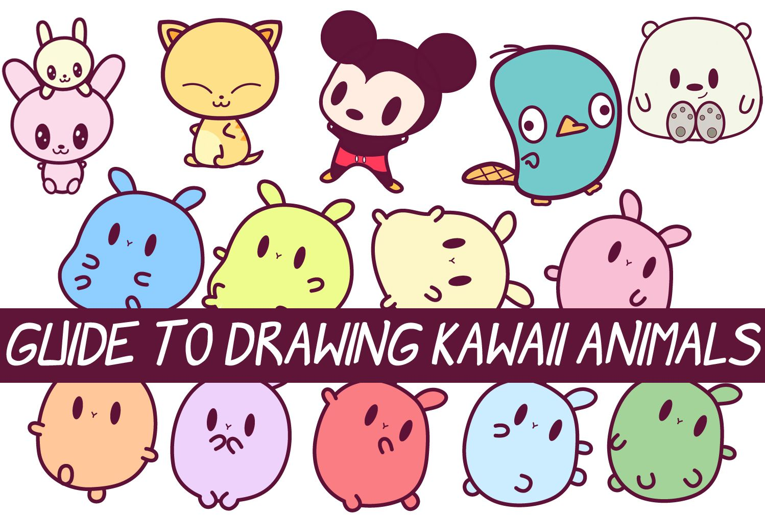 Easy Guide to Drawing Kawaii Characters Part 2 How to