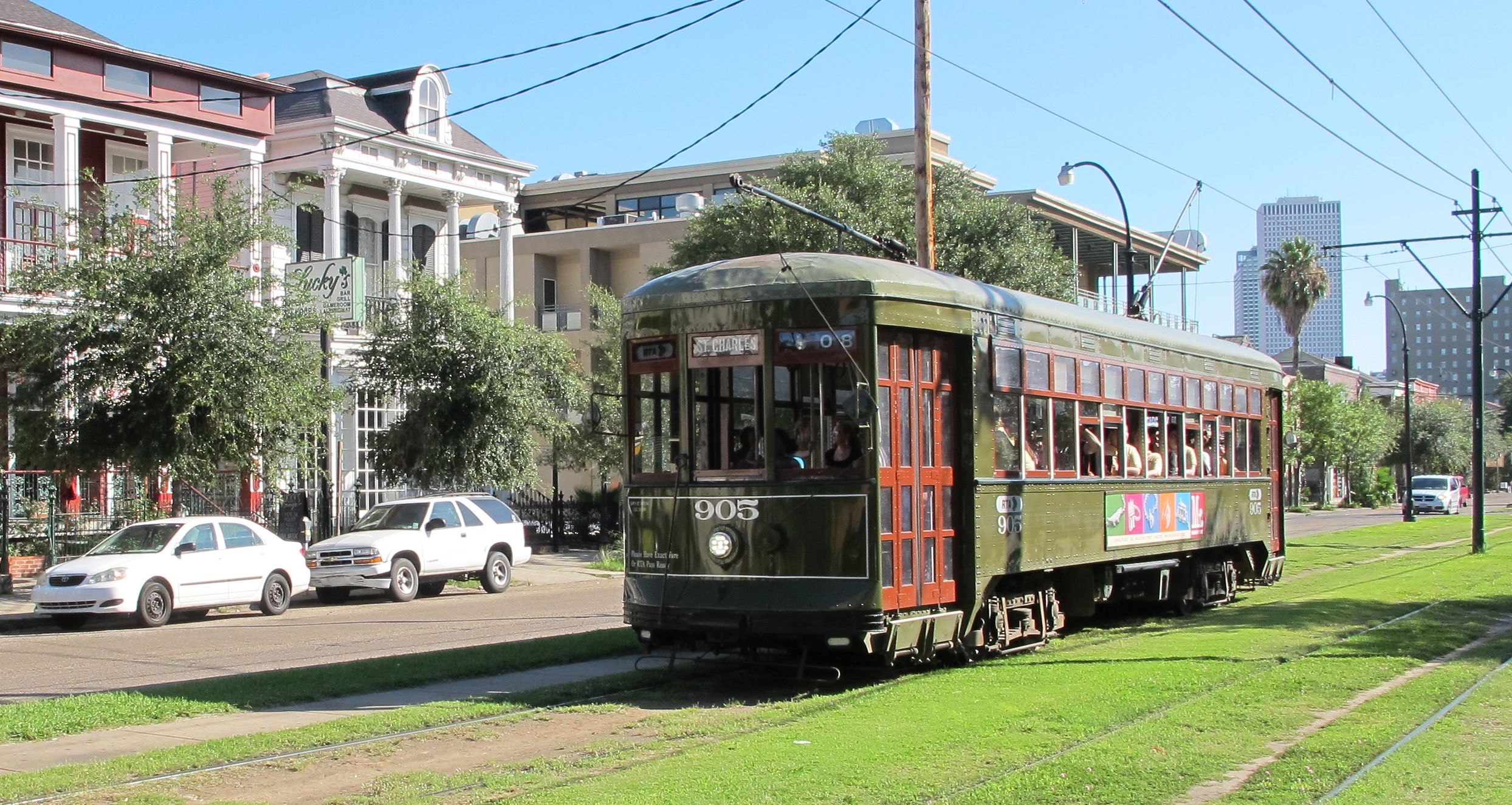 New Orleans Street Cars: NEW ORLEANS: Streetcars And Baby Dolls