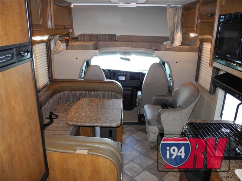 Thor Chateau 23u Compact Class C Motorhome Interior Rv Vacation