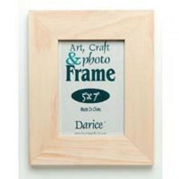 5 X 7 Unfinished Craft Frame 1 3/4in W  5 X 7 Unfinished Craft Frame 1 3/4in W5 X 7 Unfinished Craft Frame 1 3/4in W...