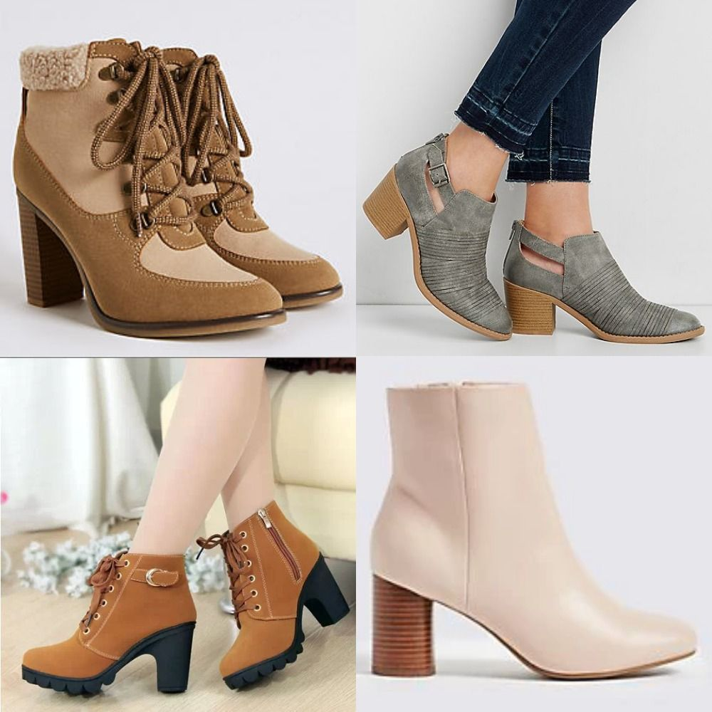website for discount elegant shoes new arrive Shop Womens Boots From Marks & Spencers. | Boots, Block heel ...