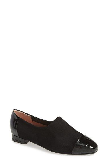 3183d0e6001 BeautiFeel  Lucy  Stretch Suede Cap Toe Flat (Women) available at  Nordstrom