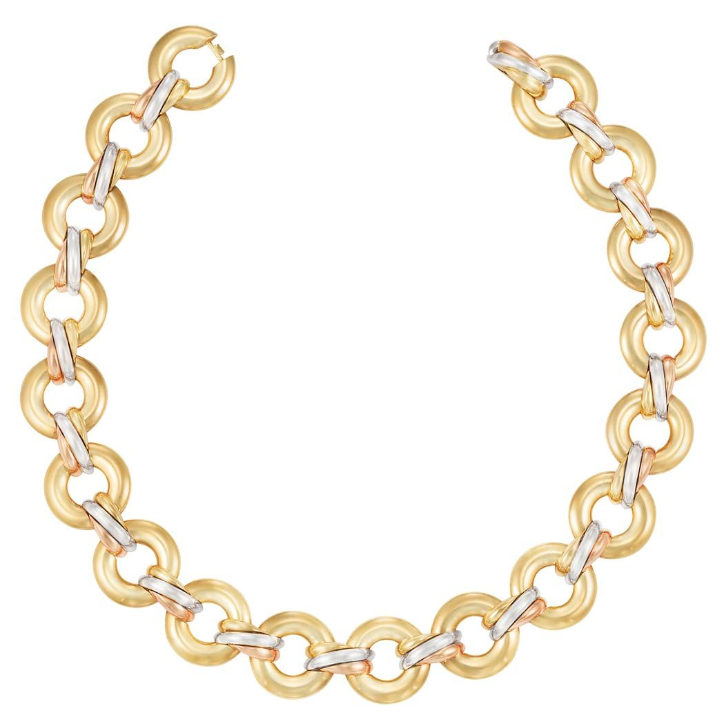 gold crystals pav band pave plated necklace metal en rose silver enamelled