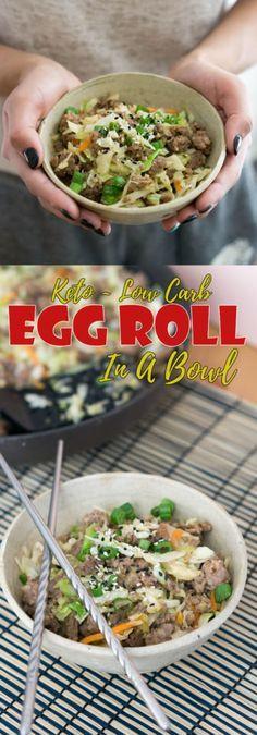 Keto Egg Roll In A Bowl #ketoegg