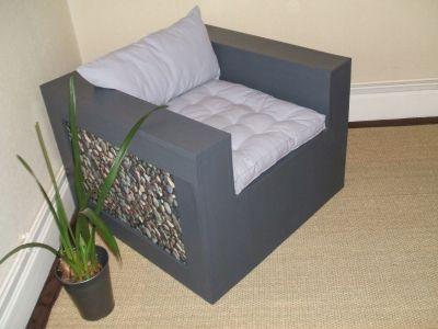 Essai autour du carton mon tout premier essai - Patron meuble en carton gratuit ...