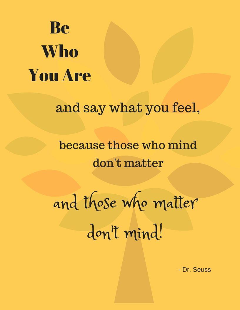 Fun Dr Seuss Quotes