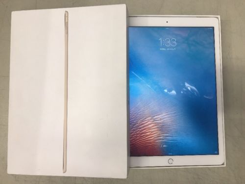 Apple iPad Pro 128GB Wi-Fi  Cellular (READ) 12.9in - Gold (Latest Model) https://t.co/sKR80icDFR https://t.co/cAfyjUm3VL