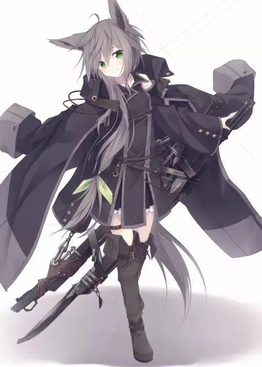 軍服 女 かっこいい イラスト Anime Illustration イラスト 美少女