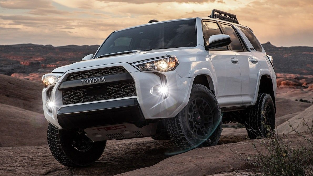 2020 Toyota 4runner Trd Pro Review More Tech Same Powertrain New Display Instrument Panel And Push Button Start Toyota 4runner Toyota 4runner Trd 4runner