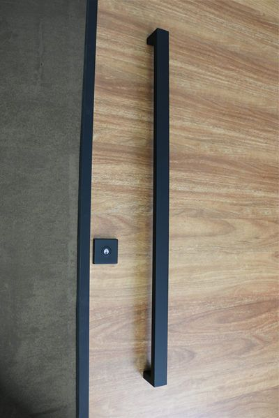 Matte Black Entry Pull Set 12m Long Houses In 2019 Doors