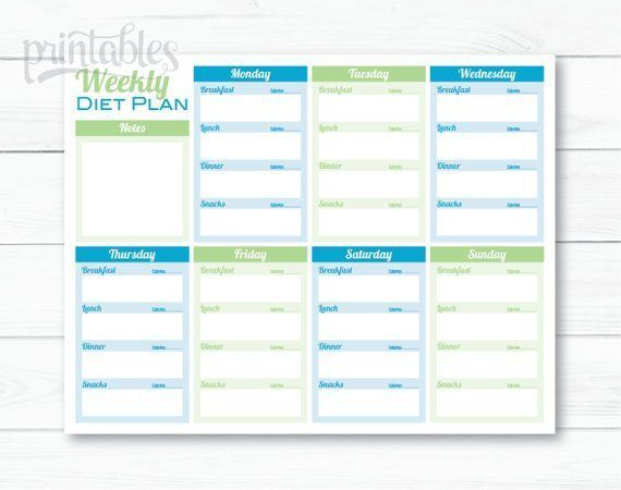 #printable #planners #stickers #editable #fitness #planner #health #weekly #diet        Editable Pri...