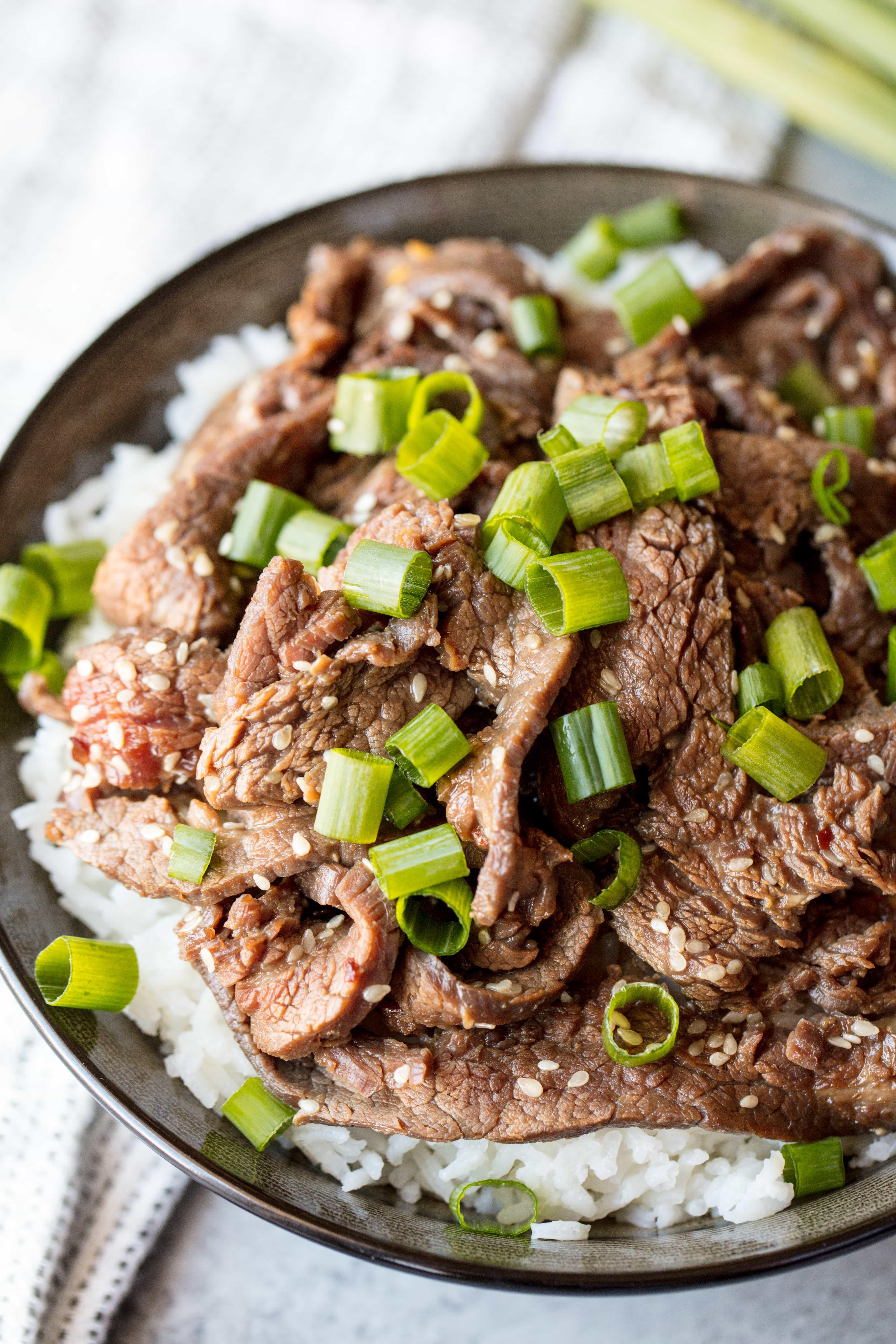 Korean Beef Bulgogi Recipe   Recipe   Korean beef bulgogi ...