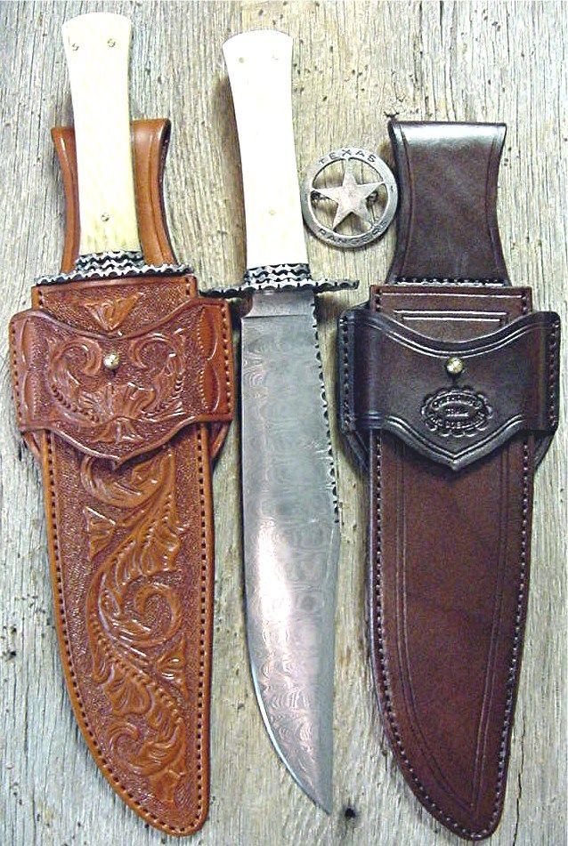 Texas Ranger Knife Sheath Cuchillos Cuchillos